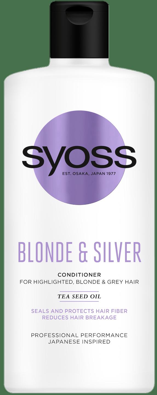 Syoss Blonde & Silver Балсам pack shot