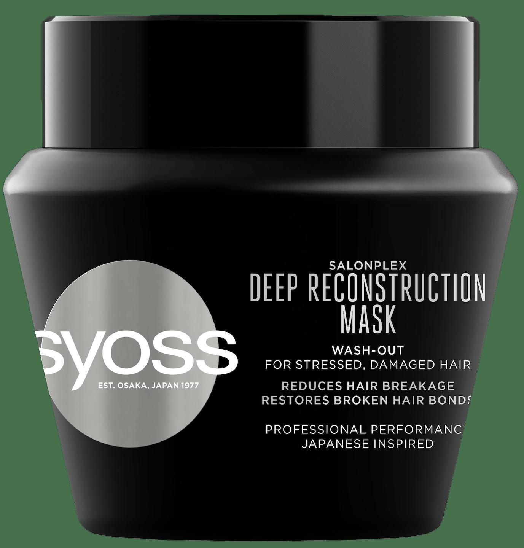 Syoss Salonplex Интензивна реконструираща маска  pack shot