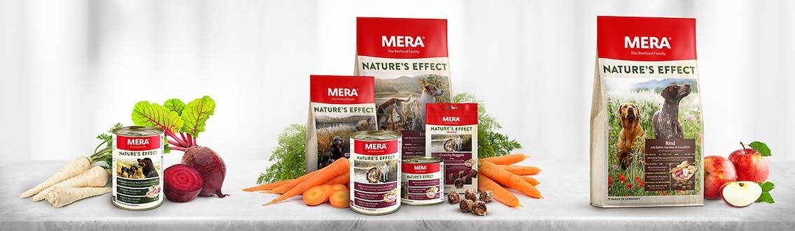 MERA Nature's Effect Hundefutter mit heimischen Superfoods