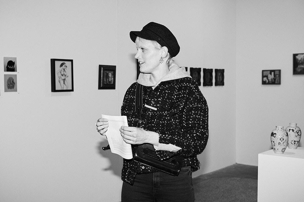 Frida Mindt ist Kunstliebhaberin