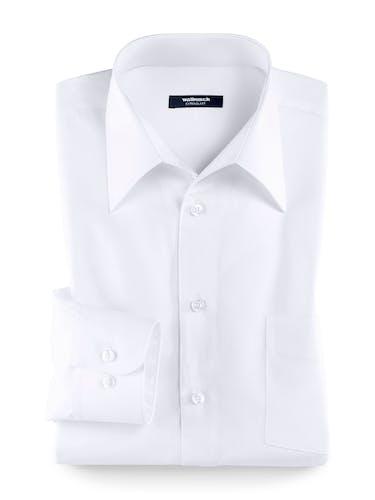 Weißes Hemd mit Walbusch-Kragen.