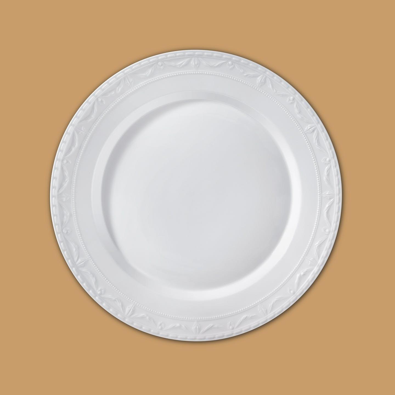 Platte rund, KURLAND, flach