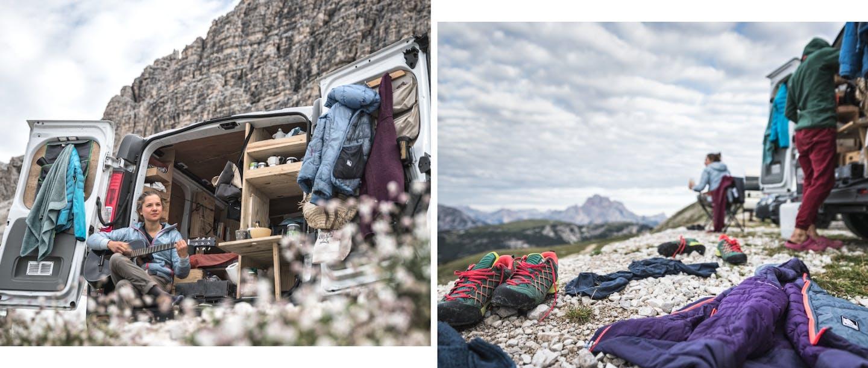 La collezione Alpine Help Salewa per uomo