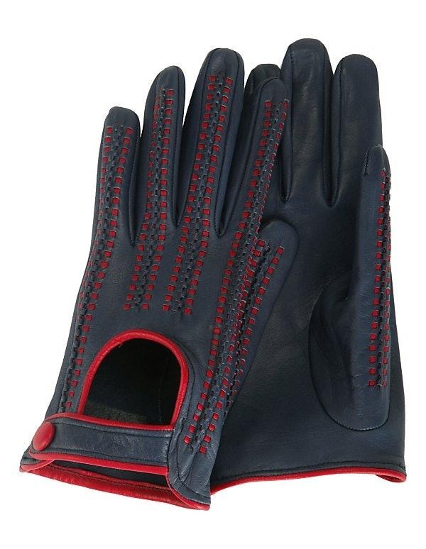 Sportive Handschuhe aus weichem Leder