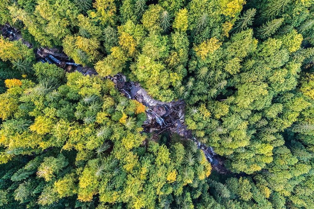 Wasserfälle über Fojnica, Bosnien und Herzegowina