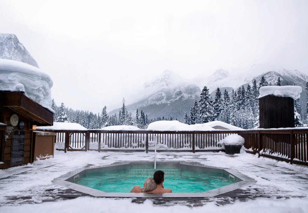 Hot Springs Alberta Kanada