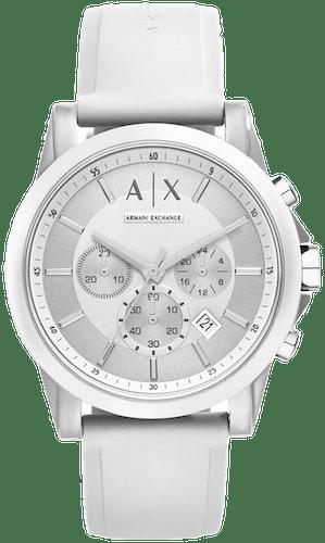 Cette montre ARMANI EXCHANGE se compose d'un bracelet en Silicone Blanc