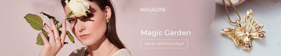 Magic Garden: Nueva colección & joyas de destacada inspiración floral