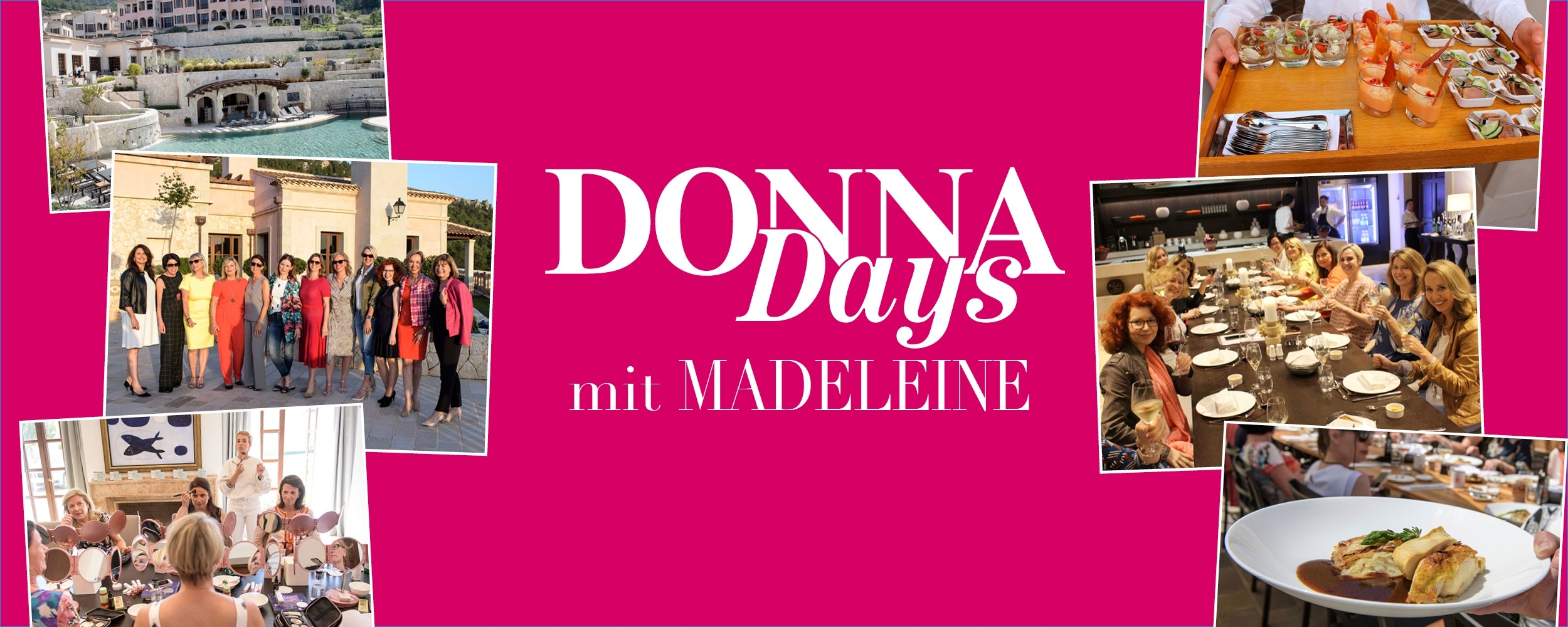 Mit MADELEINE auf den DONNA Days