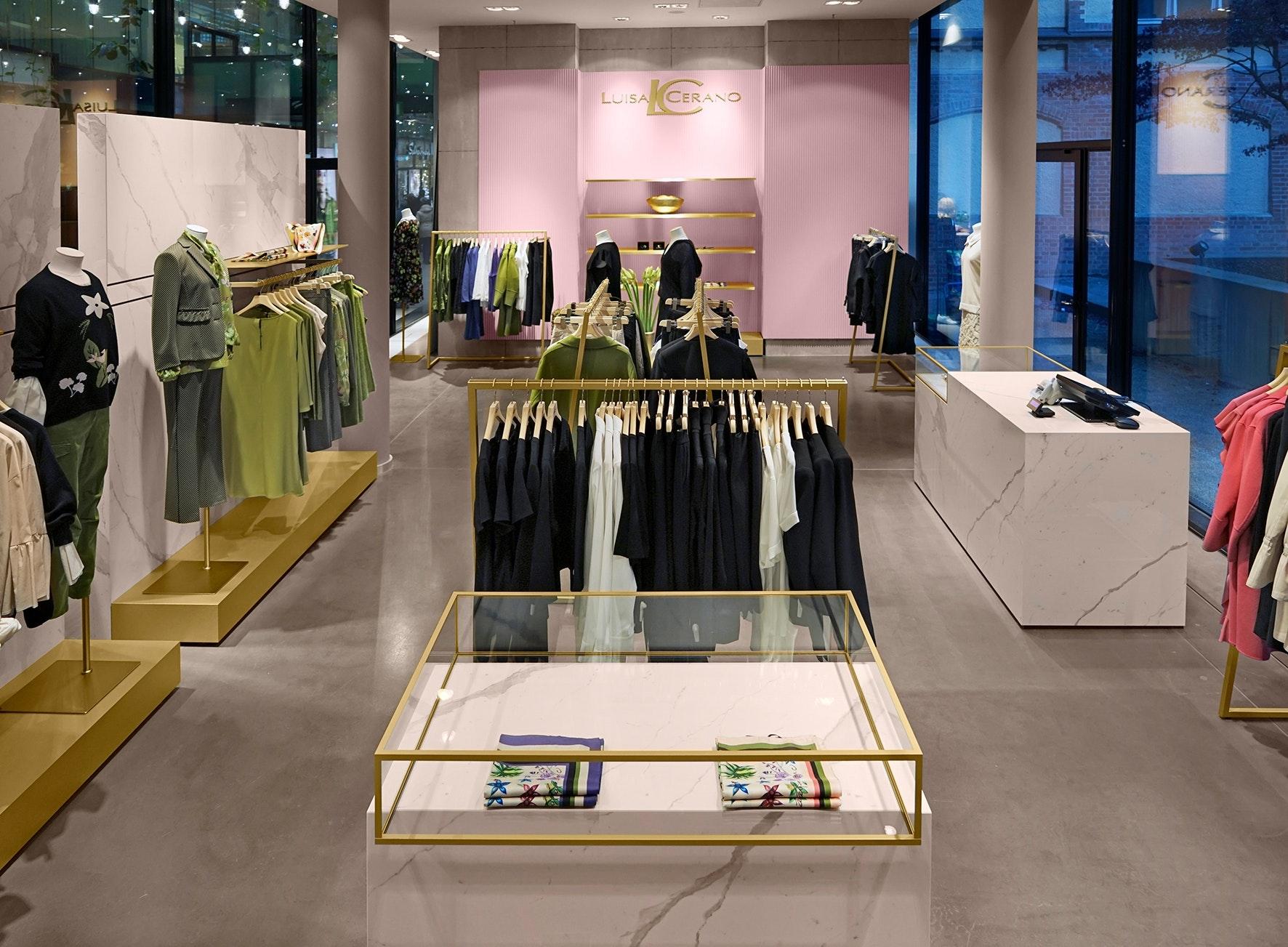 Luisa Cerano, Store, München, Lodenfrey