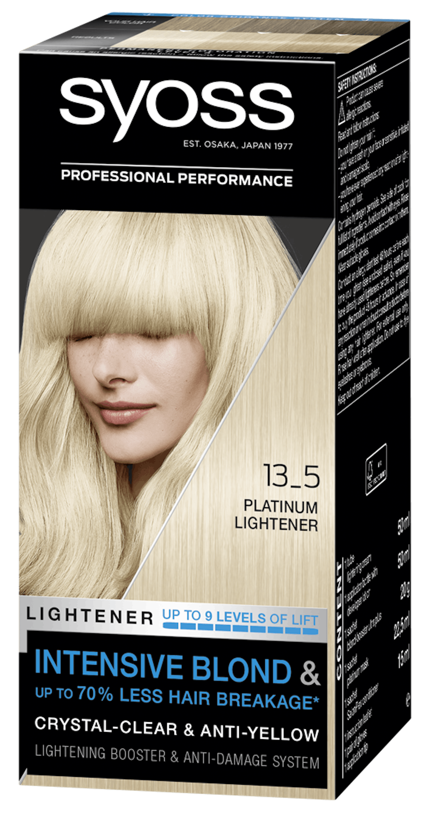 Syoss Permanent Coloration 13_5 Platinum Lightener