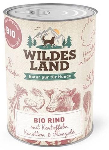 Wildes Land - Nassfutter - Probe-Paket Bio (getreidefrei)