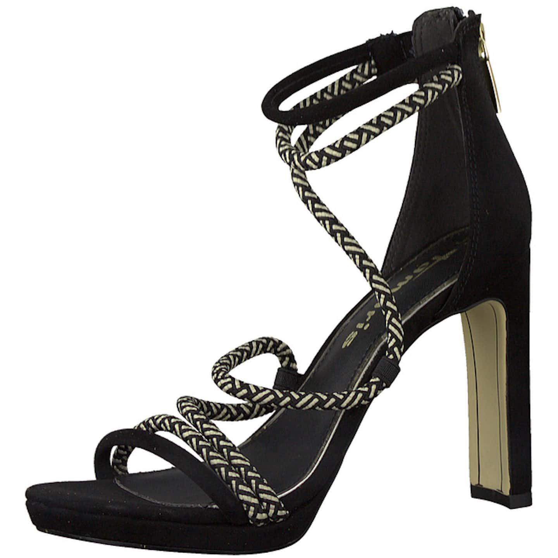 Tamaris Top Trends High Heels für Damen, schwarz
