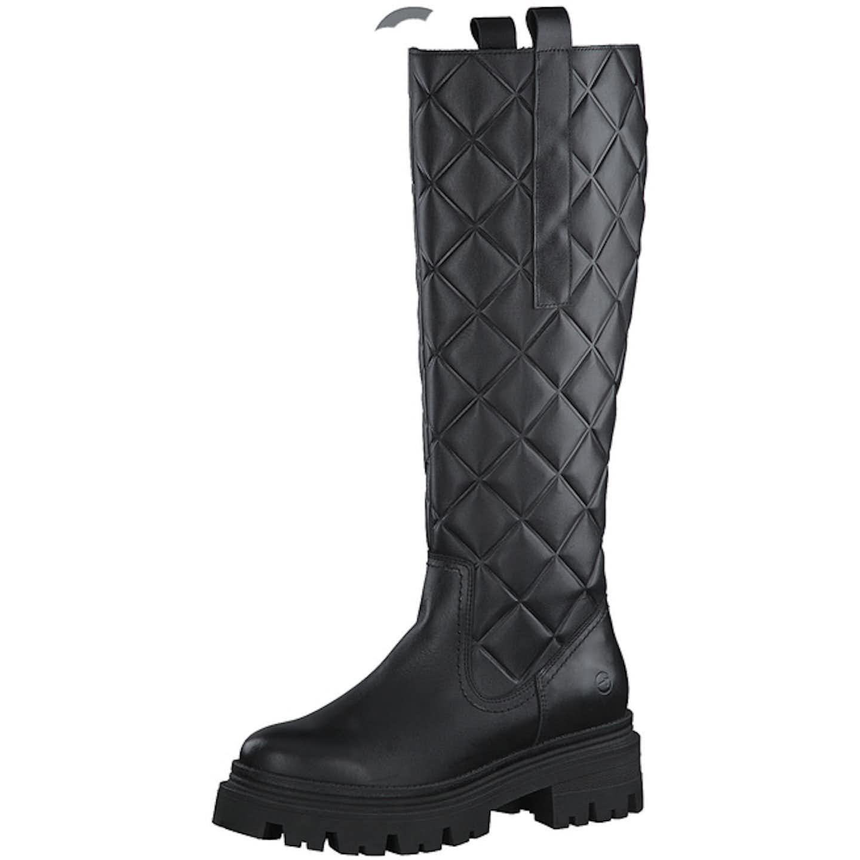 Tamaris Klassische Stiefel für Damen, schwarz