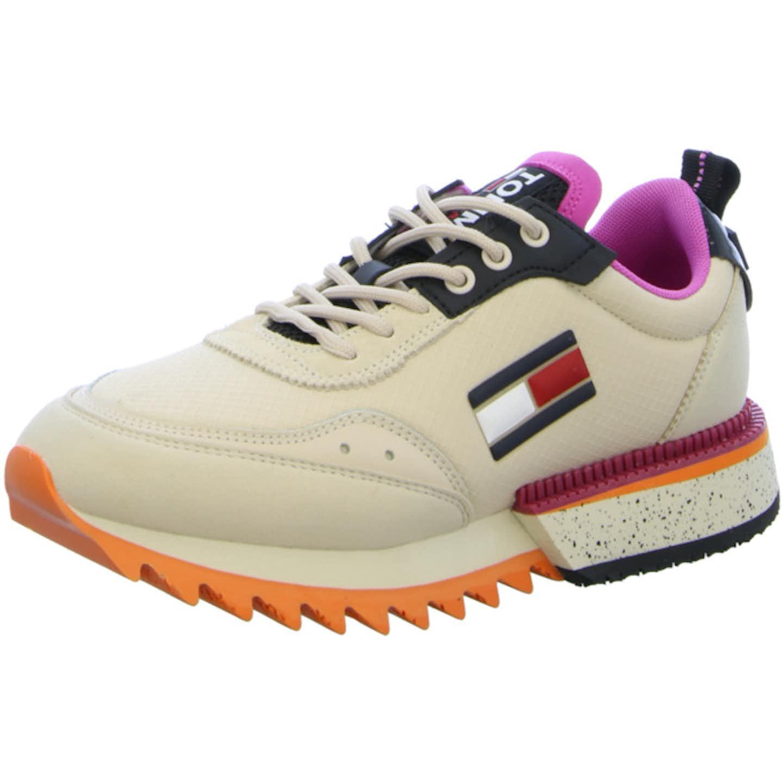 Tommy Hilfiger Top Trends Sneaker für Damen, beige