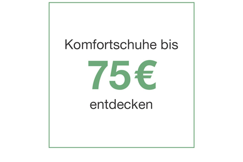 komfortschuhe bis 75 euro