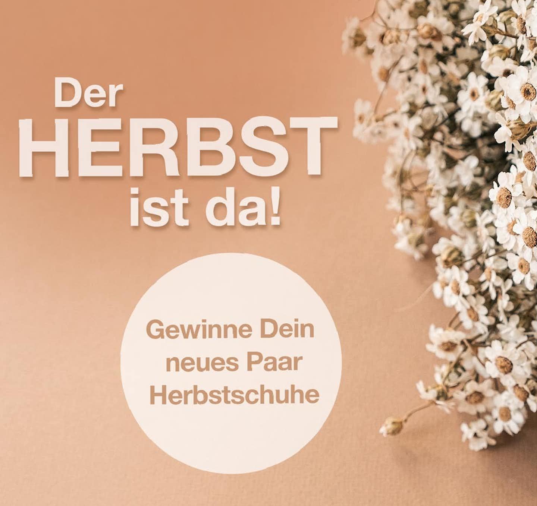 Herbst Gewinnspiel schuhe.de