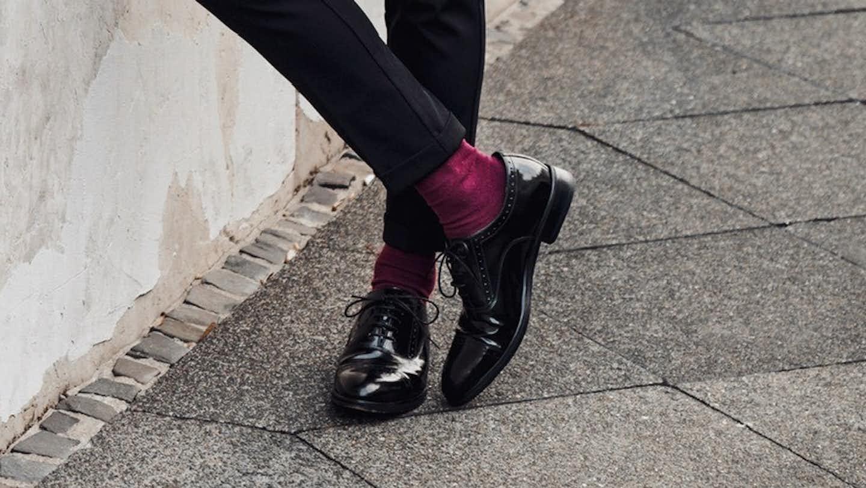 Schwarze Business Schuhen