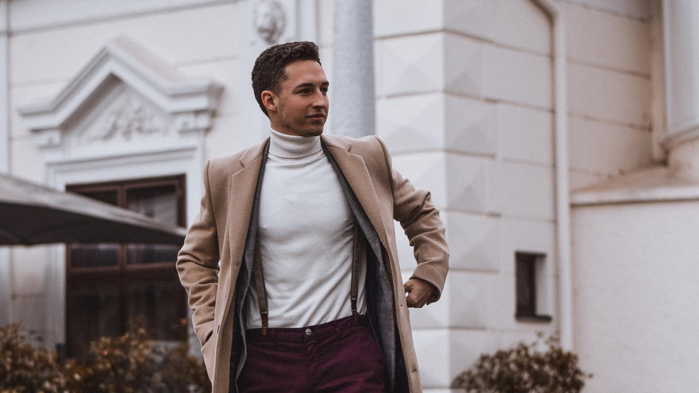 Mann mit Business Outfit