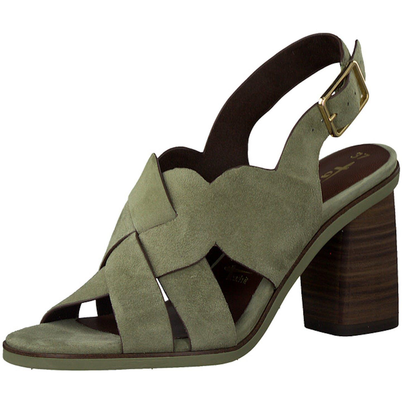 Tamaris Top Trends Sandaletten für Damen, grün