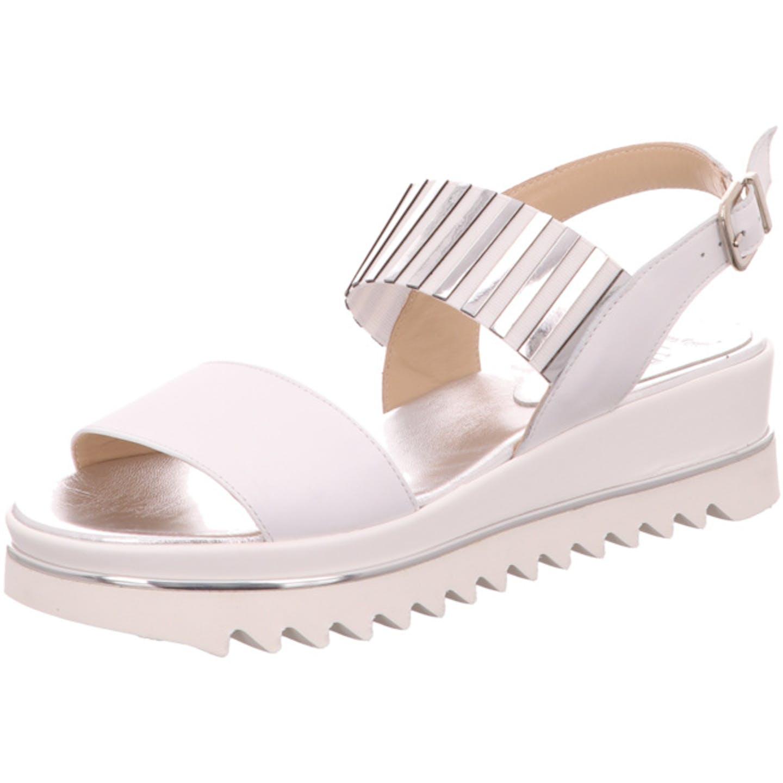 Luca Grossi Sandaletten für Damen, weiß