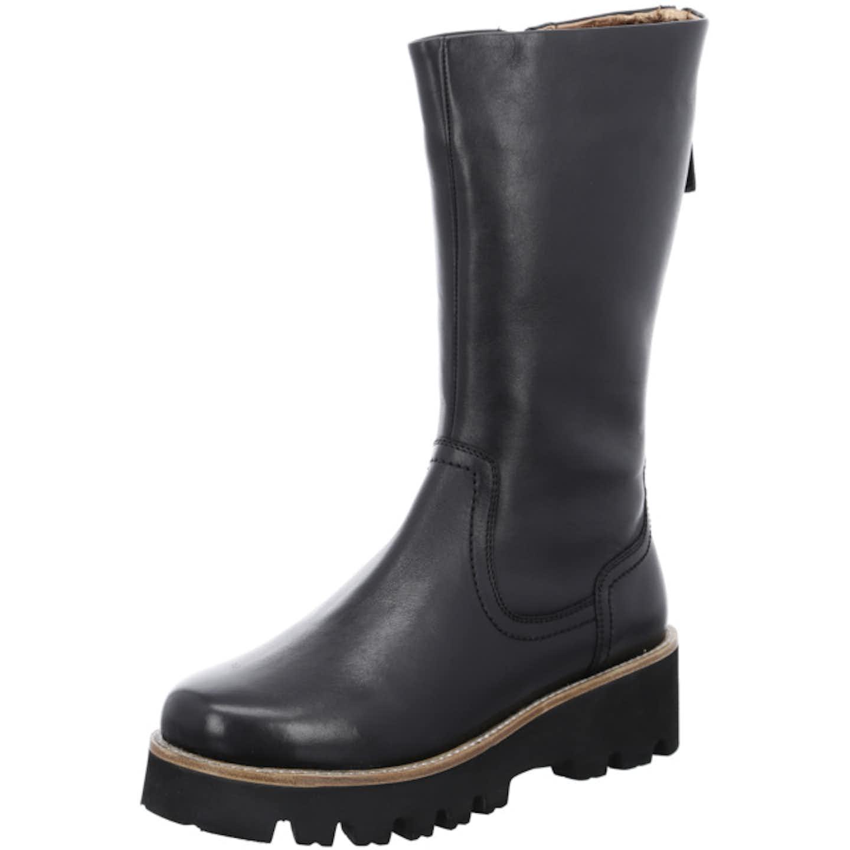 ara Plateau Stiefel für Damen, schwarz