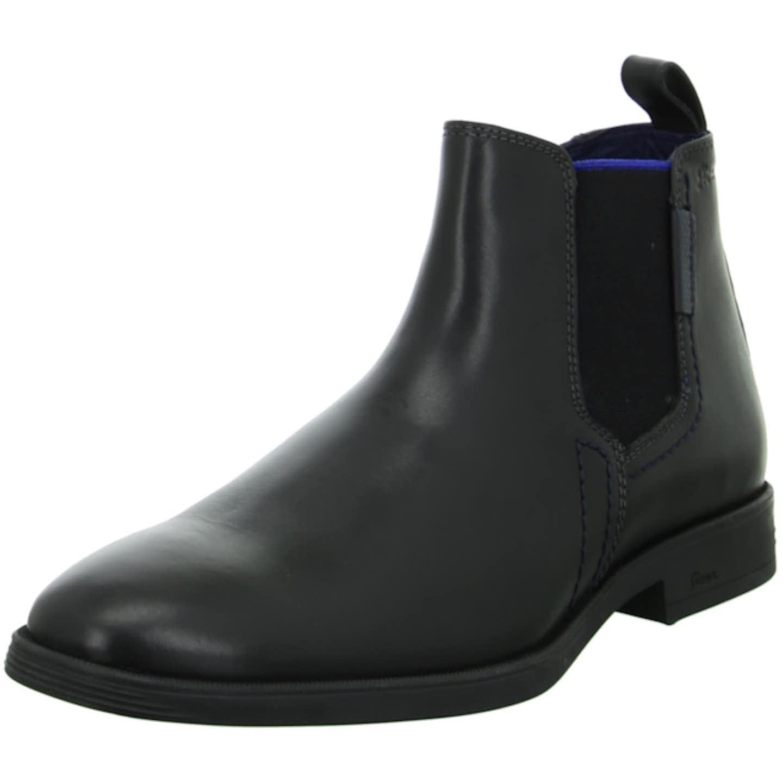 Sioux Chelsea Boots für Herren, schwarz