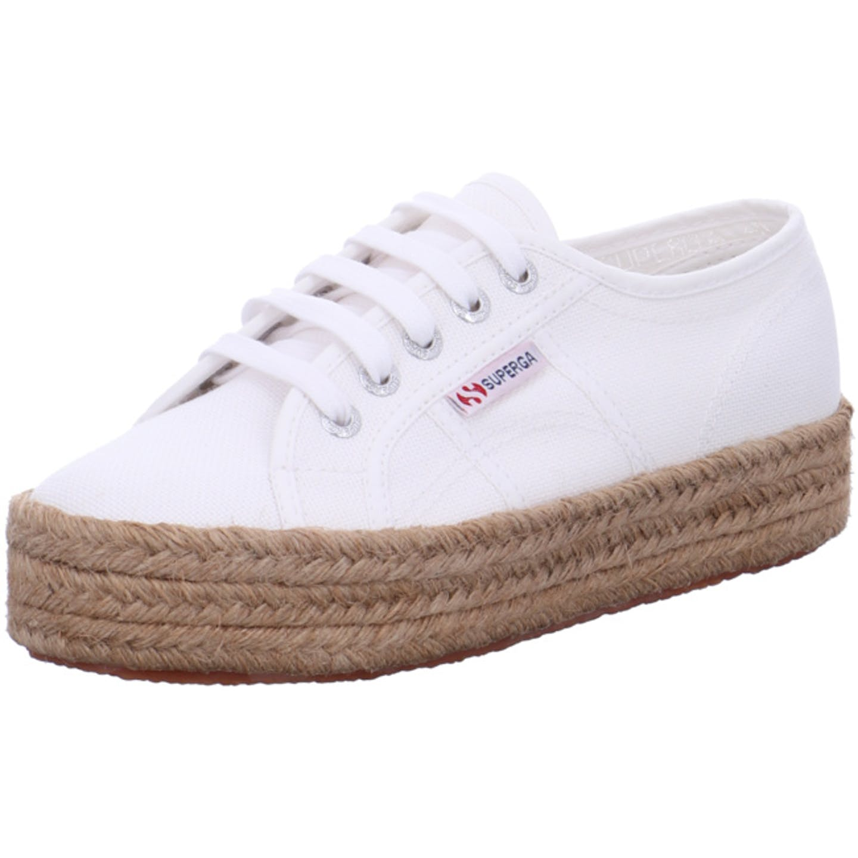 Superga Top Trends Sneaker für Damen, weiß