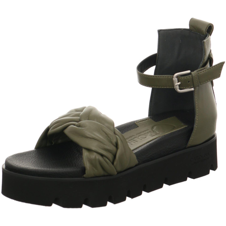 Donna Carolina Top Trends Sandaletten für Damen, grün