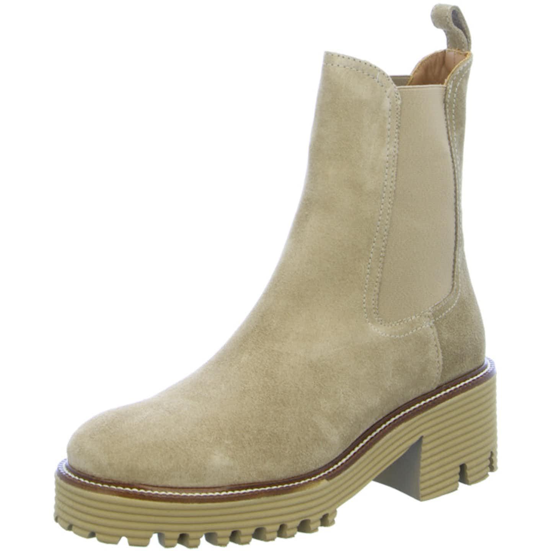 Marian Chelsea Boots für Damen, beige