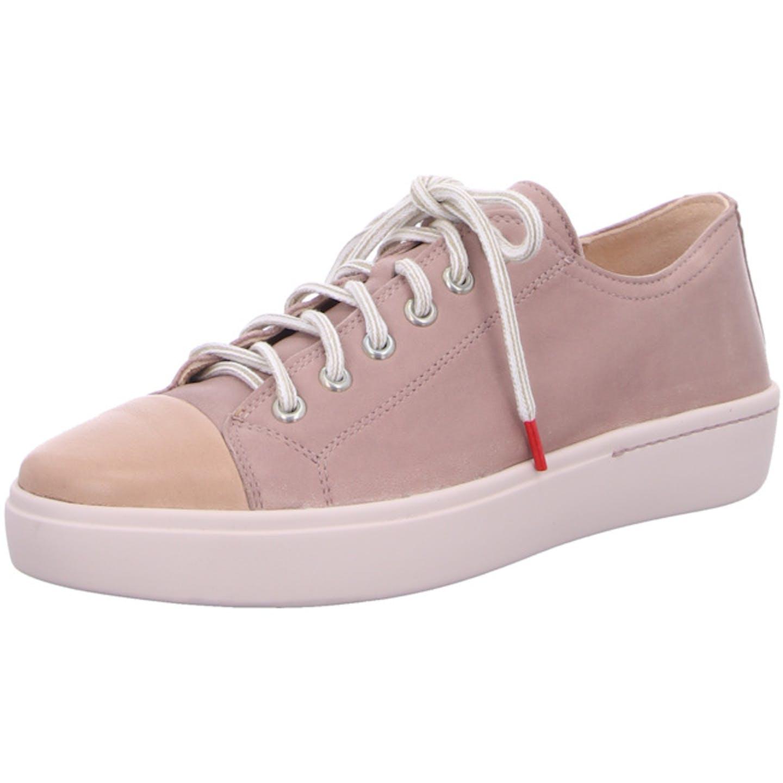 Think Bequeme Schnürschuhe für Damen, rosa