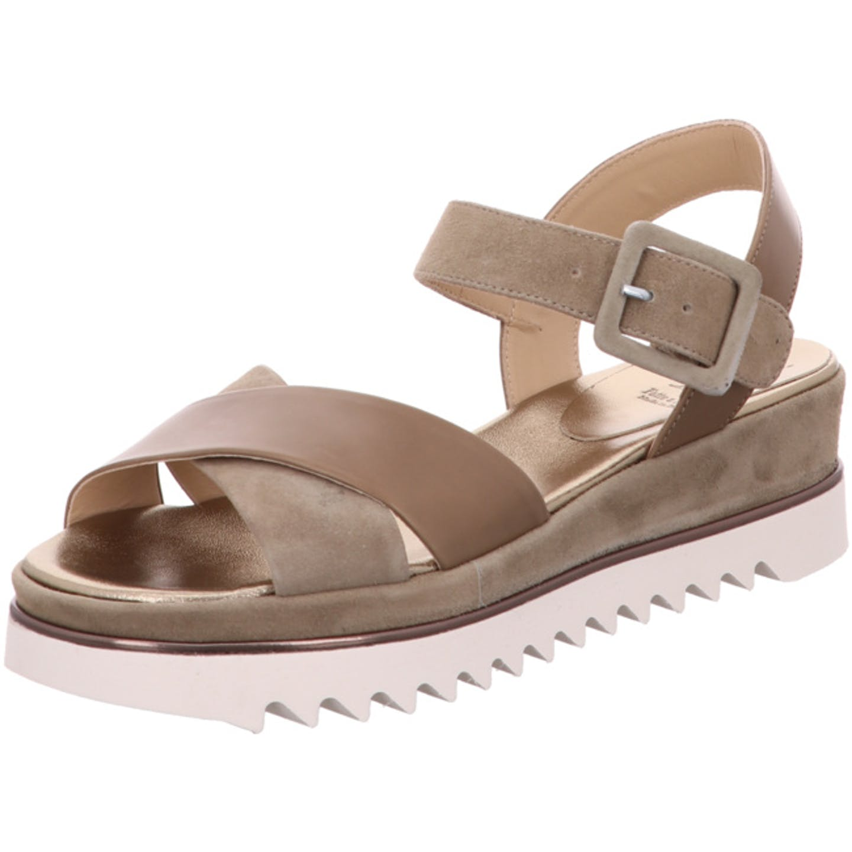 Luca Grossi Sandaletten für Damen, grau