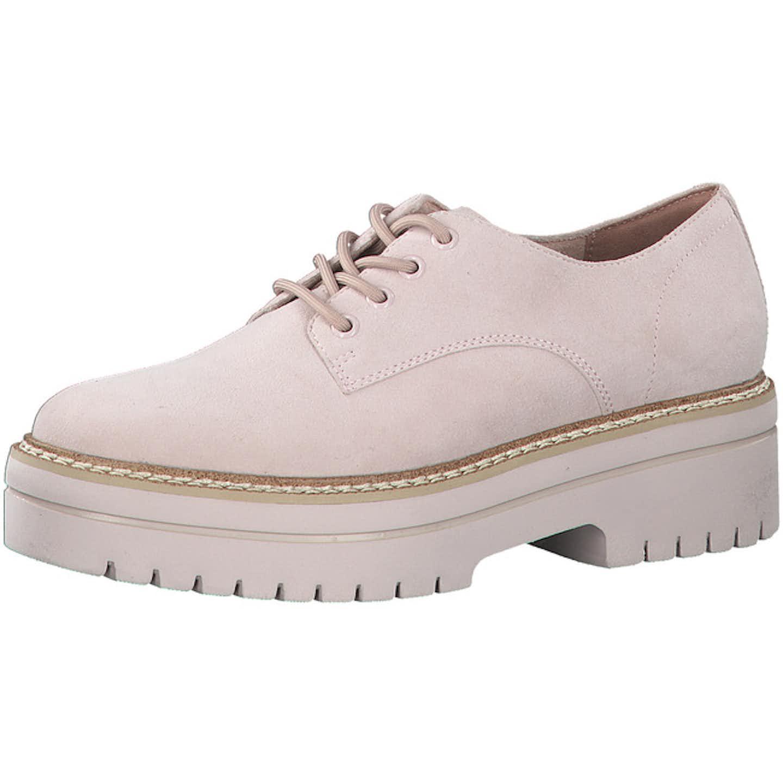 Tamaris Top Trends Schnürschuhe für Damen, rosa