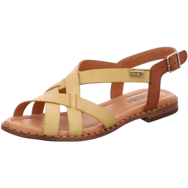 Pikolinos Algar Sandalen für Damen, gelb