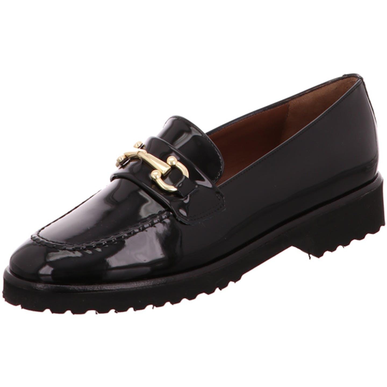 Lorbac Top Trends Slipper für Damen, schwarz
