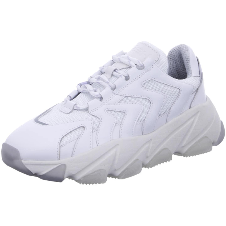 Ash Plateau Sneaker für Damen, weiß