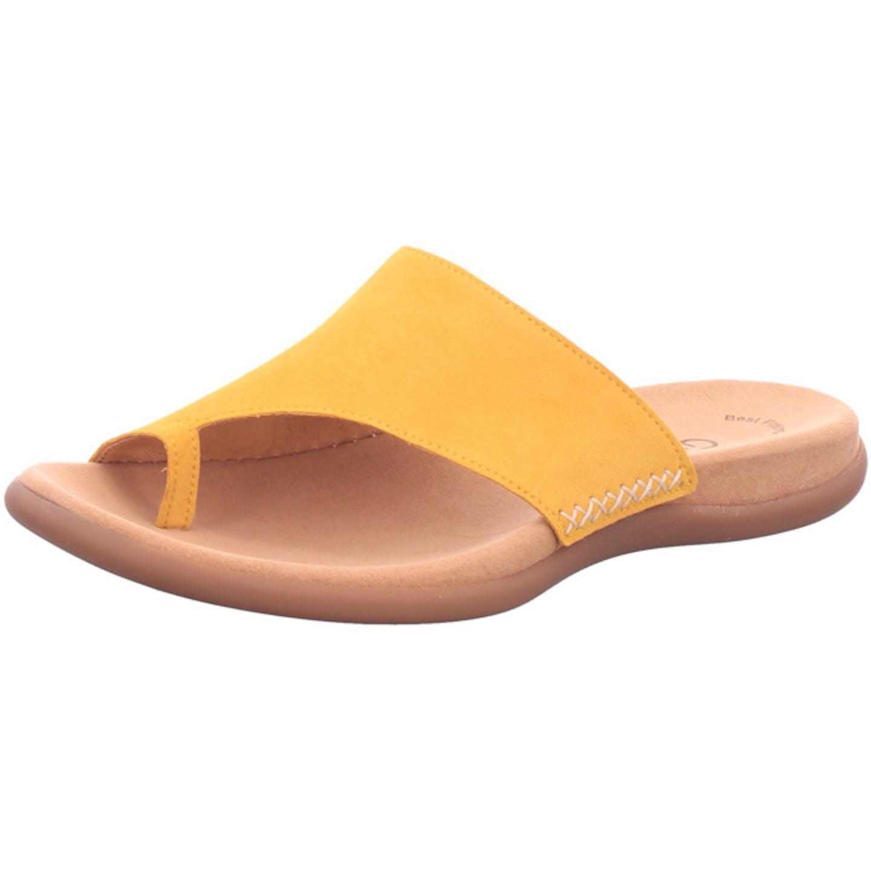 Gabor Zehentrenner für Damen, gelb