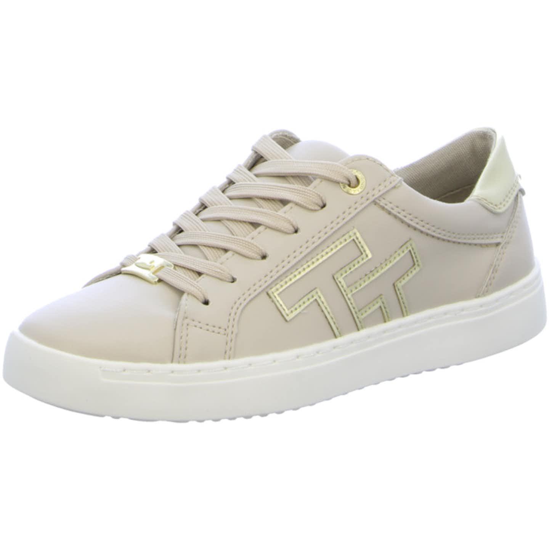 Tom Tailor Top Trends Sneaker für Damen, beige