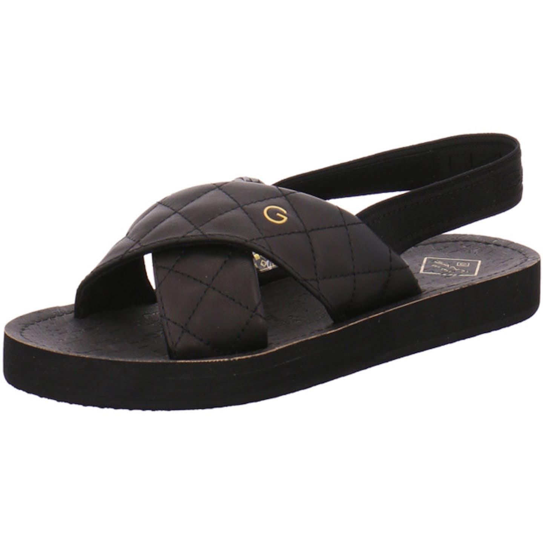Gant Top Trends Sandaletten für Damen, schwarz