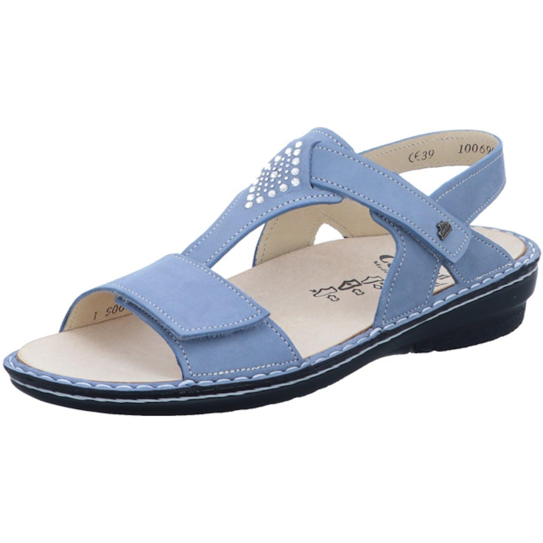 FinnComfort Bequeme Sandalen für Damen, blau