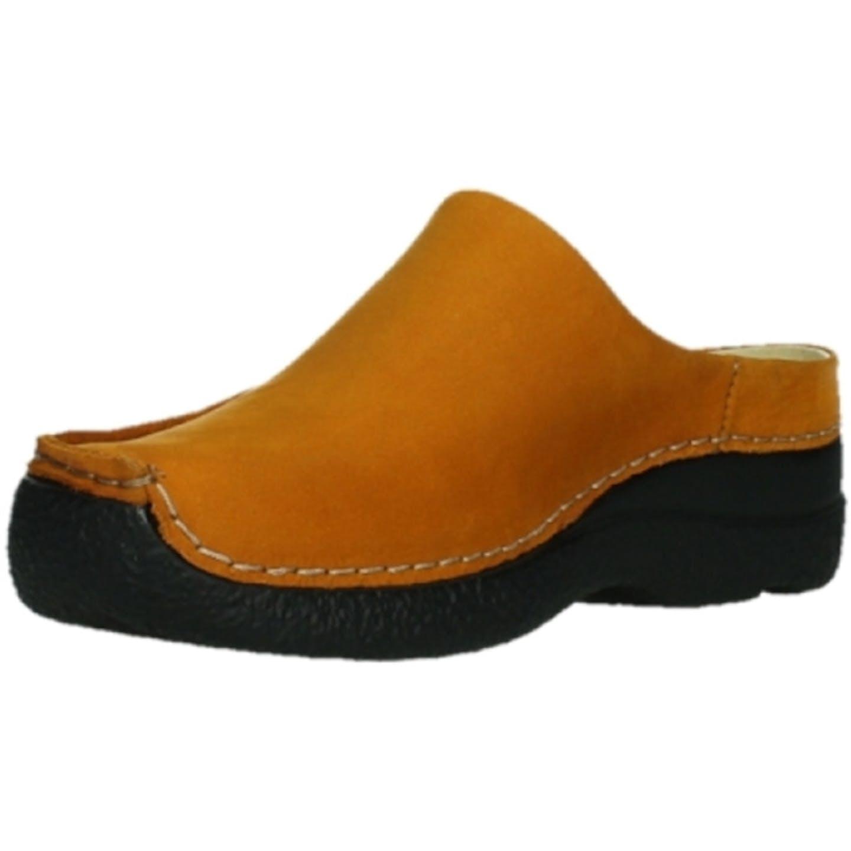 Wolky Bequeme Pantoletten für Damen, orange