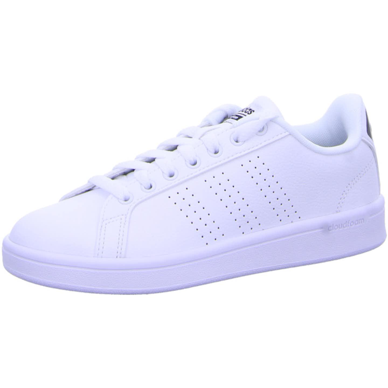 adidas Cloudfoam Advantage Clean Women Sneaker Low für Damen, weiß