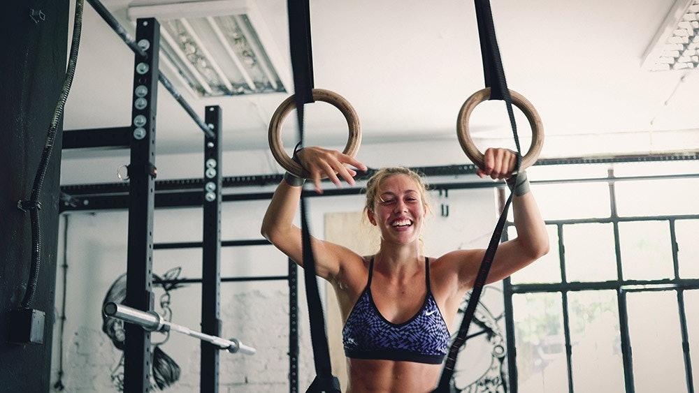 Mädchen im Gym