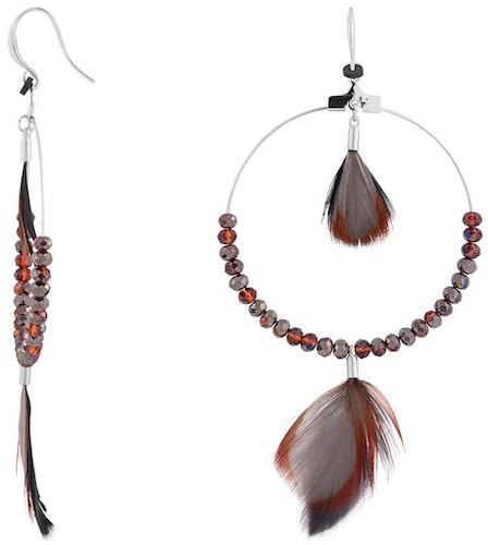 Boucles d'oreilles INDIAN SUMMER en Métal Argenté