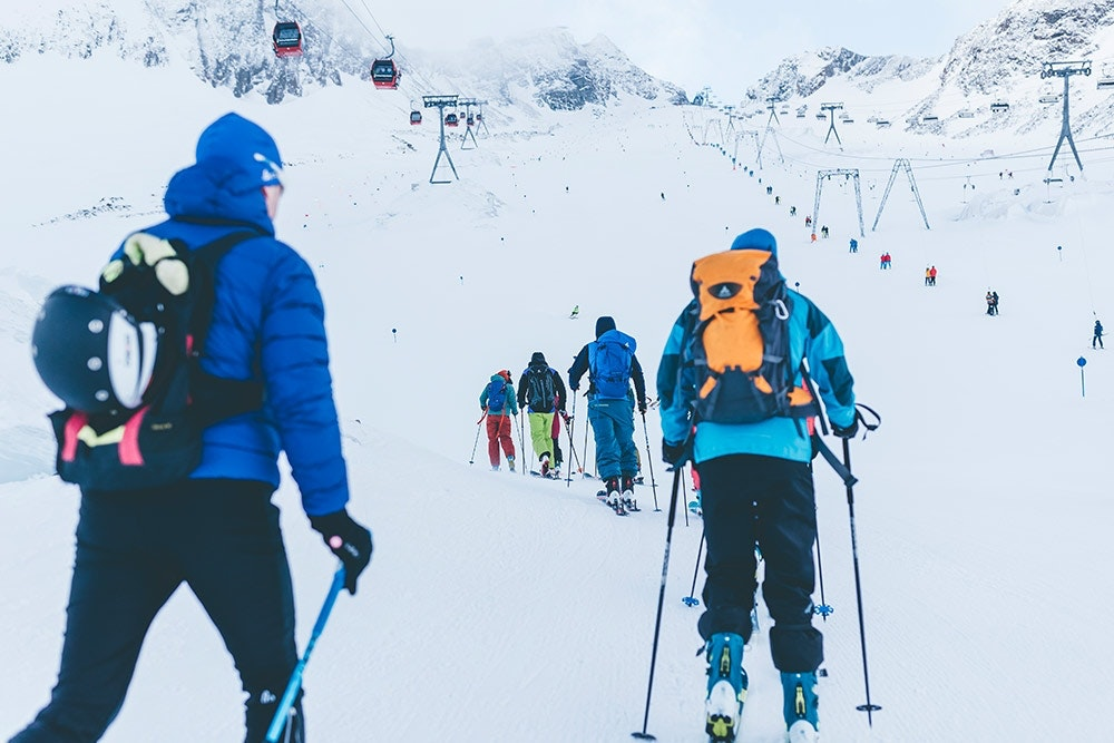 Skitour: Side Event beim Gletscher Testival
