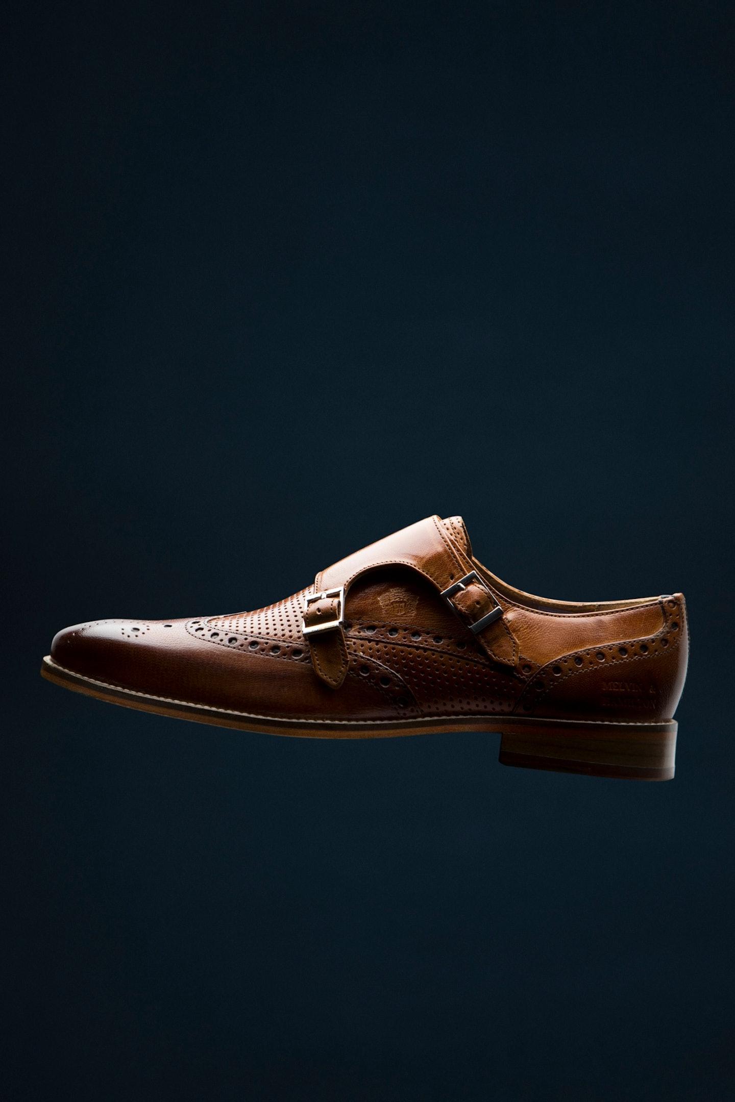 Klassische Schuhe für die City aus Leder Melvin & Hamilton