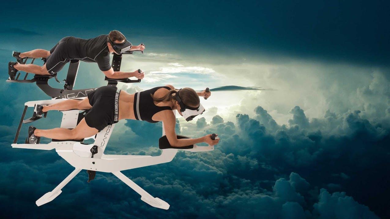 Icaros Home - Fitnessstation mit VR