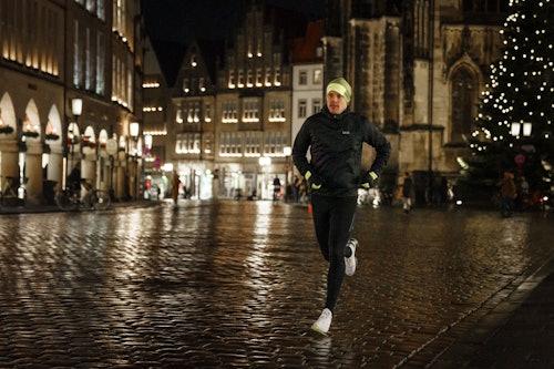 Läufer im Dunkeln