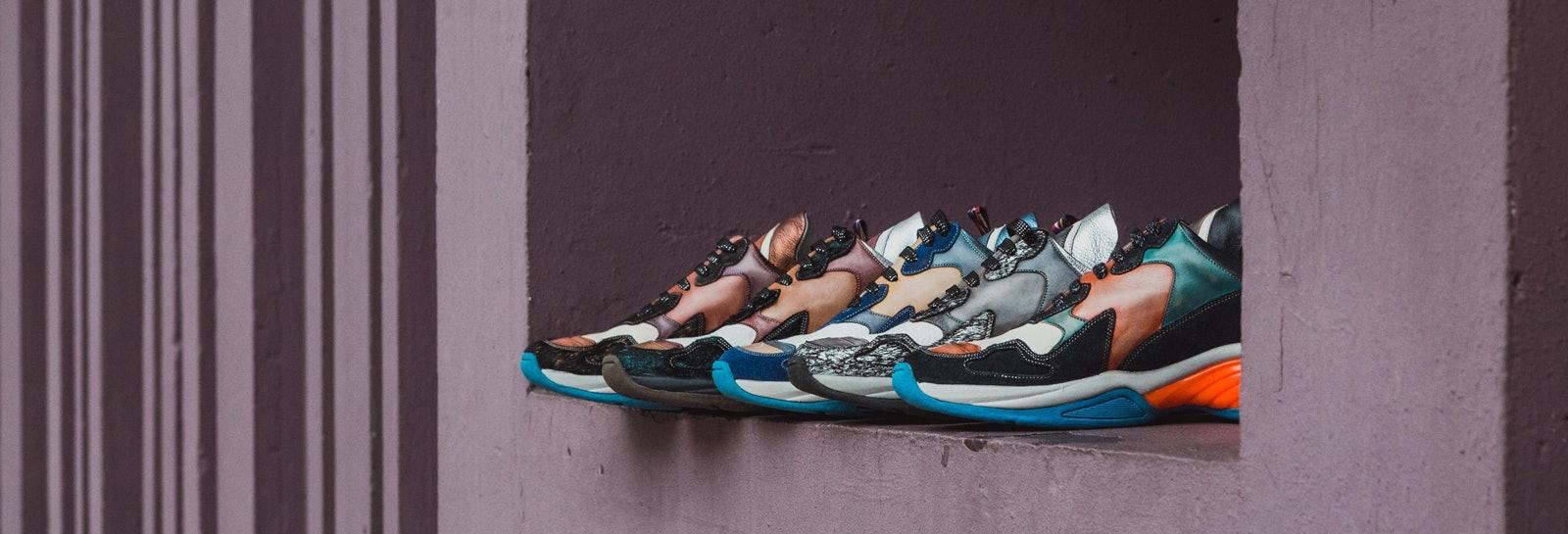Men women sneakers Melvin & Hamilton