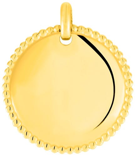 Médaille NINA IMPALA en Plaqué Or Jaune